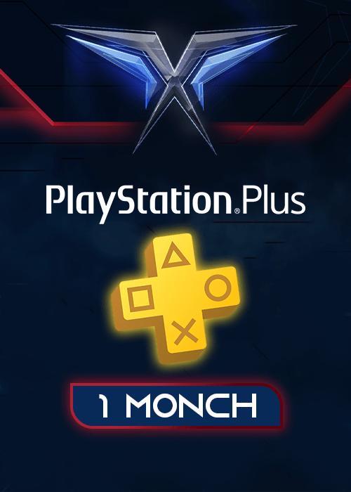 اشتراک 1 ماهه PlayStation Plus آمریکا