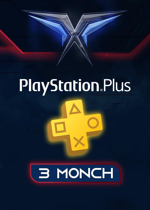اشتراک 3 ماهه PlayStation Plus آمریکا