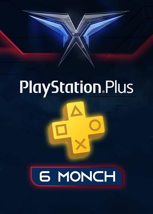 اشتراک 6 ماهه PlayStation Plus آمریکا