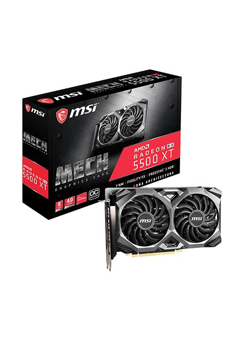 کارت گرافیک / MSI Radeon RX 5500 XT MECH 8G