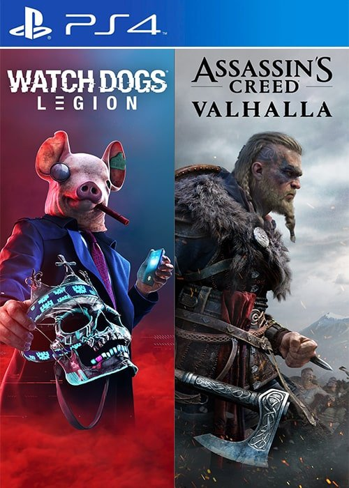 اکانت قانونی / Ubisoft Bundle 1 (Assassin's Creed Valhalla + Watch Dogs: Legion)